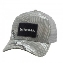 SIMMS HIGH CROWN TRUCKER HEX CAMO BOULDER