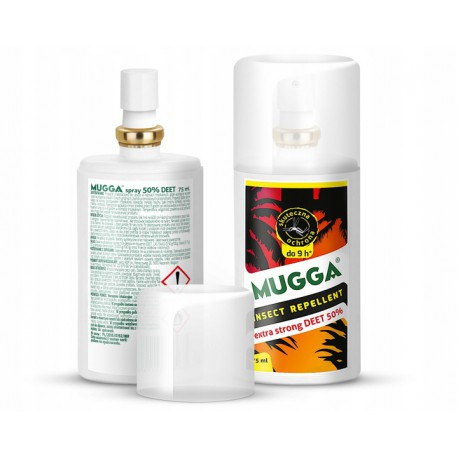Mugga Spray DEET 50% 75ml